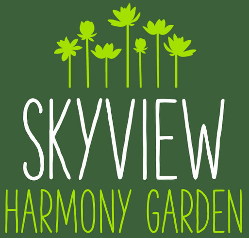 Skyview Harmony Garden shirt design - zoomed