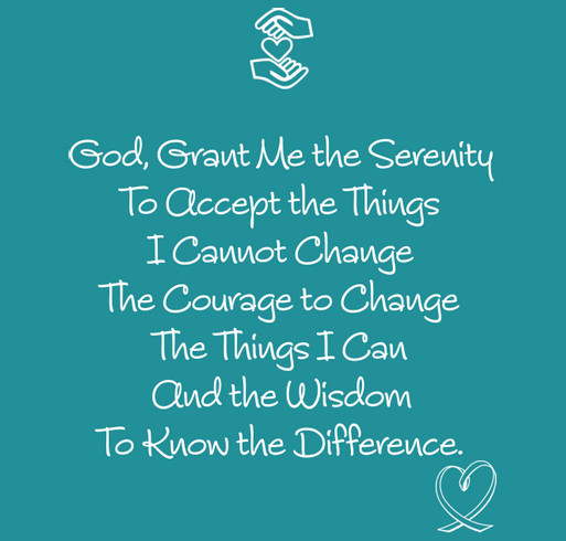 Serenity Prayer Shirt shirt design - zoomed