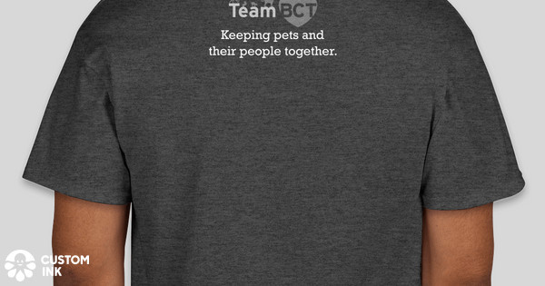 Team BCT - Keeping pets and their people together! Custom