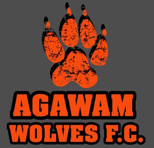 a04a592213e Support your Agawam Wolves! shirt design - zoomed. Support your Agawam  Wolves! Fundraiser - unisex shirt design - front