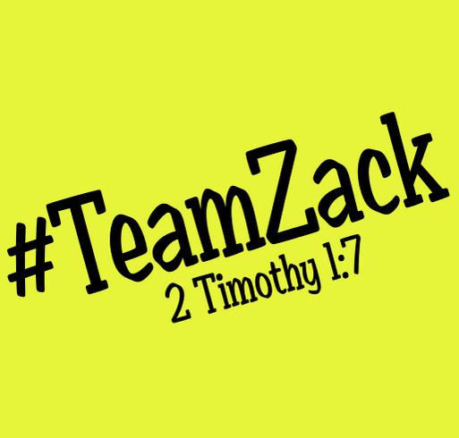 #TeamZack shirt design - zoomed