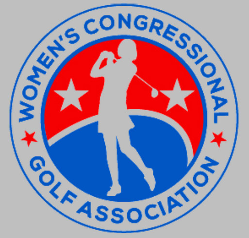 Women's Congressional Golf Association shirt design - zoomed