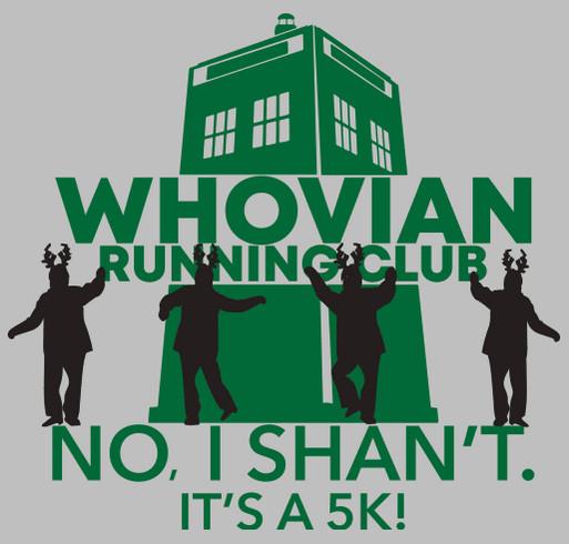 WRC No, I Shan't. 5k shirt design - zoomed