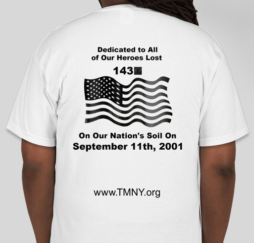 Path pa 1 car 143 09 11 memorial project tee shirt for T shirt fundraiser site