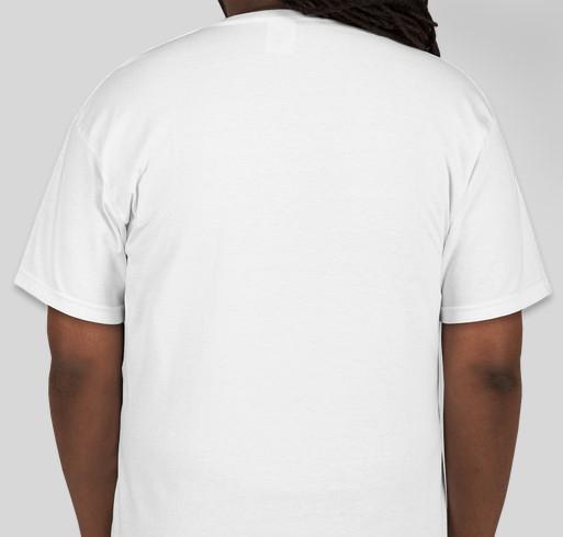 HelpHopeLive for Tammy Cologie Fundraiser - unisex shirt design - back