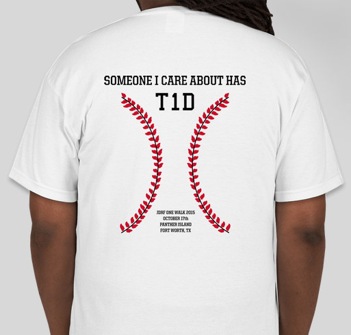 Aidan 39 s a1c all stars t shirt for jdrf one walk 2015 for Jdrf one walk t shirts