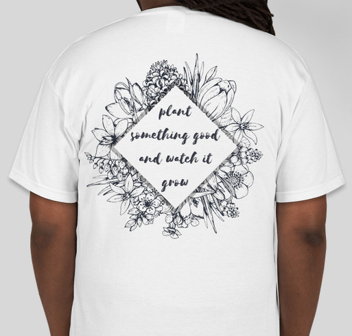 Fleur Boston Launch T-Shirt Fundraiser Fundraiser - unisex shirt design - back