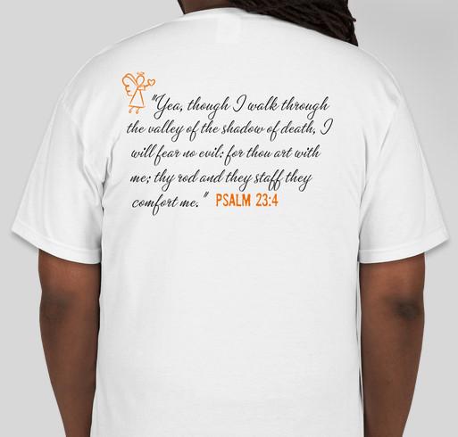 Jordan's Legacy Funeral Fundraiser Fundraiser - unisex shirt design - back