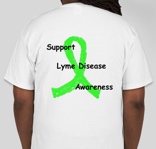 Help Support whatislyme.com Fundraiser - unisex shirt design - back