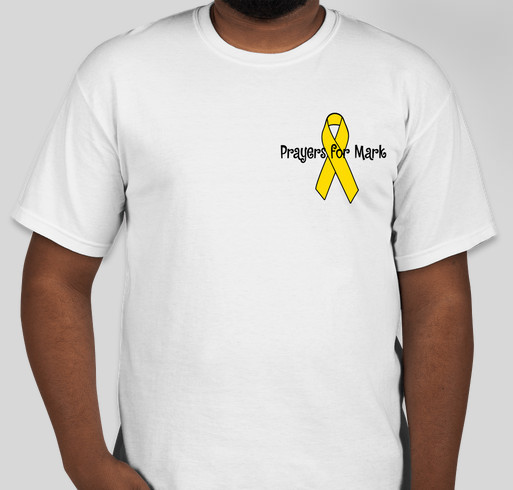 Prayers for Mark Fundraiser - unisex shirt design - front