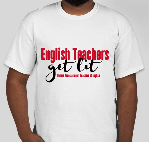 English Teachers Unite 2018! Fundraiser - unisex shirt design - front