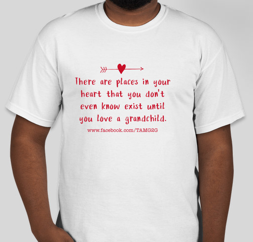 TAM Grandparent 2 Grandparent Fundraiser - unisex shirt design - front