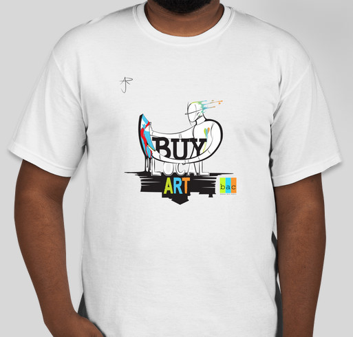 Buy Local Art Fundraiser - unisex shirt design - front