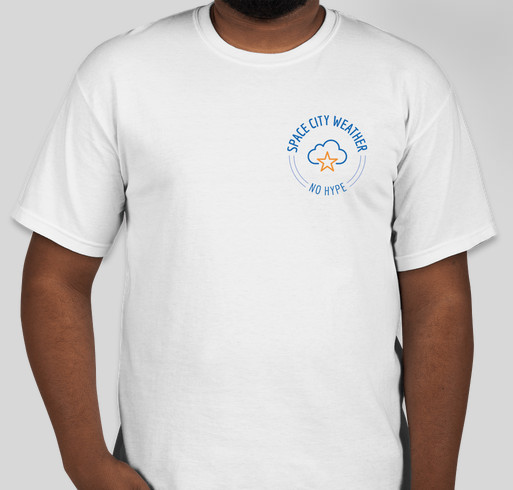 Space City Weather t-shirt drive Fundraiser - unisex shirt design - small