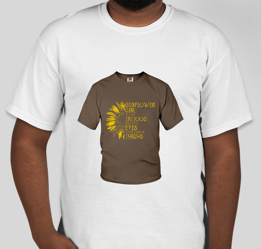 499aed78 Sunflower Girl With Tattoos Pretty Eyes And Thick Thighs shirt Fundraiser -  unisex shirt design -