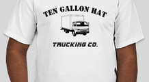 10 gallon hat trucking