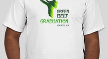 green belt graduation
