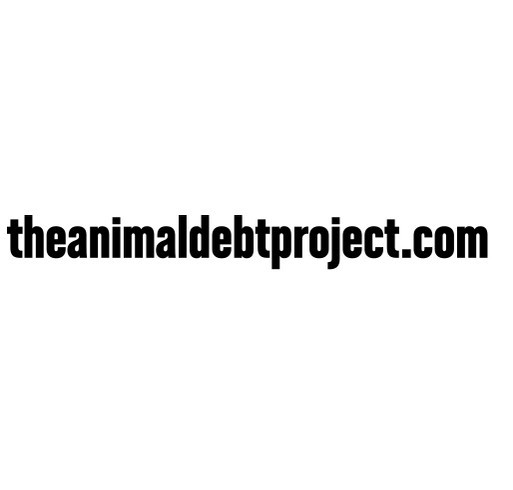 The Animal Debt Project - Foster Home Program shirt design - zoomed