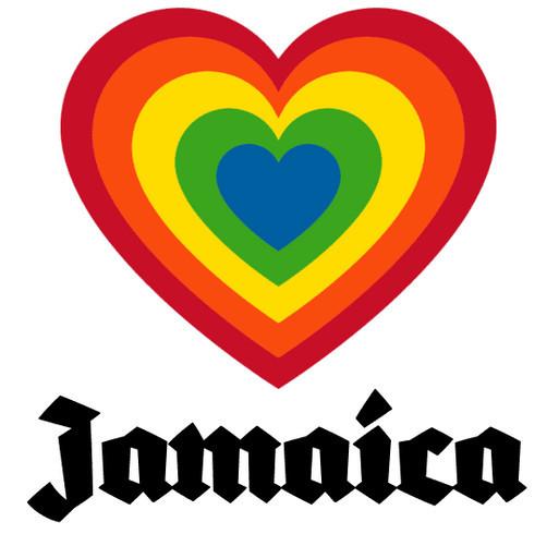 Jamaica - One Love shirt design - zoomed