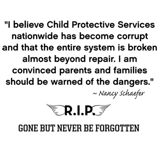 Remembrance of Nancy Schaefer and her efforts in exposed
