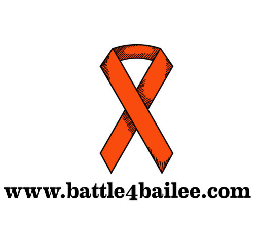 Leukemia and Lymphoma Society Battle 4 Bailee shirt design - zoomed