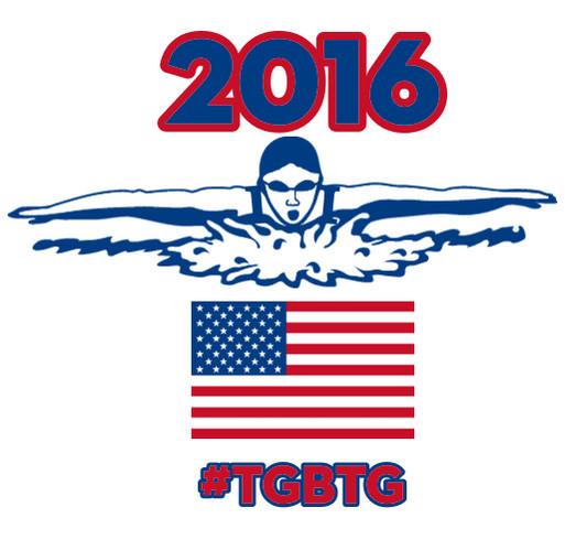 Team Worrell: Rio Bound shirt design - zoomed
