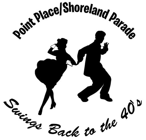 2018 Point Place/Shoreland Parade Fundraiser shirt design - zoomed