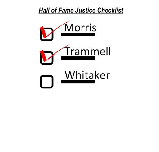 Lou Whitaker Alan Trammell Jack Morris Hall of Fame Justice shirt design - zoomed