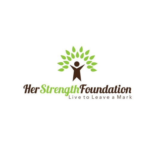 HER STRENGTH FOUNDATION shirt design - zoomed