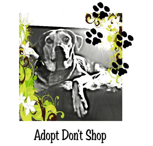 Pratt Area Humane Society Fundraiser shirt design - zoomed