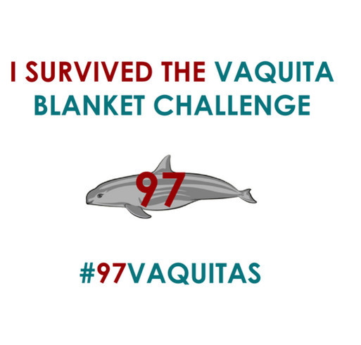 Vaquita Blanket Challenge shirt design - zoomed