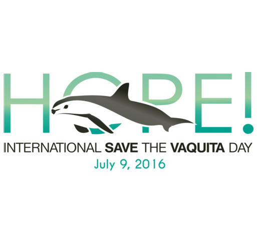 International Save the Vaquita Day 2016 shirt design - zoomed