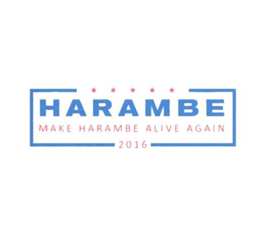 Harambe T-Shirt shirt design - zoomed