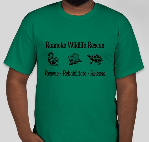 Roanoke wildlife rescue 2015 baby season custom ink for Custom t shirts roanoke va