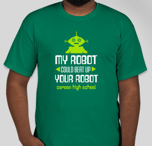 My Robot vs. Yours