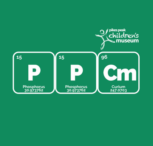 PPCM SCIENCE T-Shirt Fundraiser shirt design - zoomed