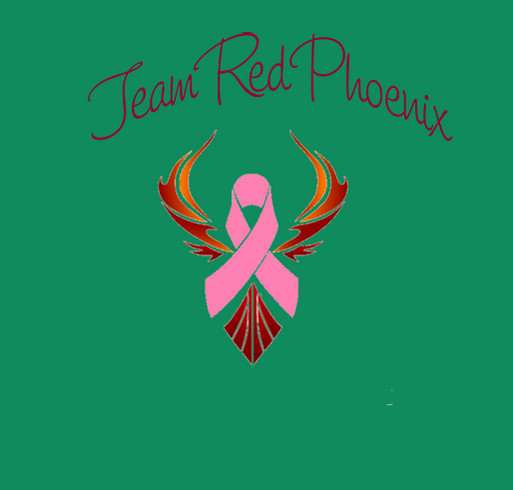 Join Team Red Phoenix! shirt design - zoomed