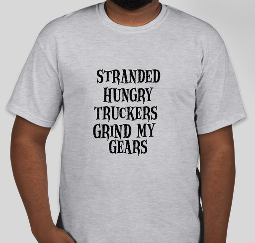 Trucker Charity Inc Fundraiser - unisex shirt design - front