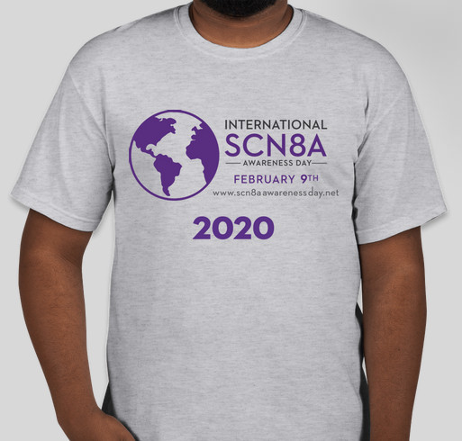 International SCN8A Awareness Day 2020 Fundraiser - unisex shirt design - front