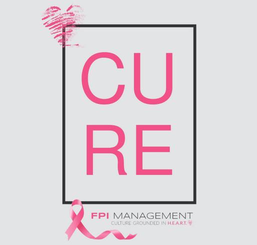 FPI Gives Back - Breast Cancer Awareness shirt design - zoomed