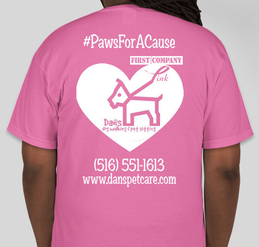 b9cf0c973 Second Annual Paws for A Cause  Breast Cancer Research Fundraiser  Fundraiser - unisex shirt design