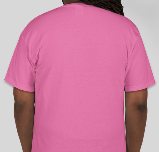 Breast Cancer Awareness Event Fundraiser - unisex shirt design - back