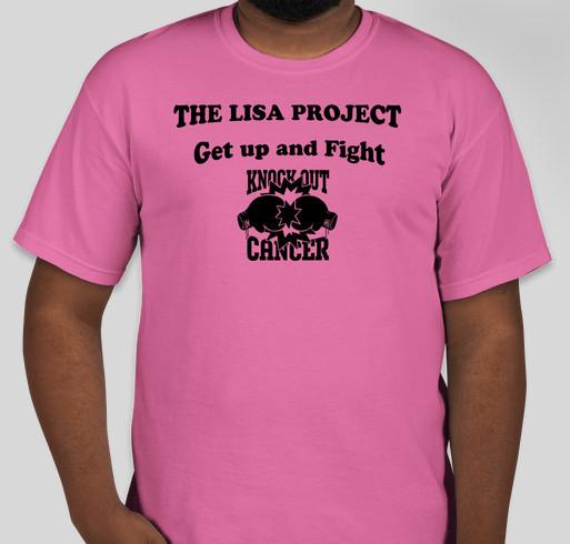 The Lisa Project Fundraiser Fundraiser - unisex shirt design - front