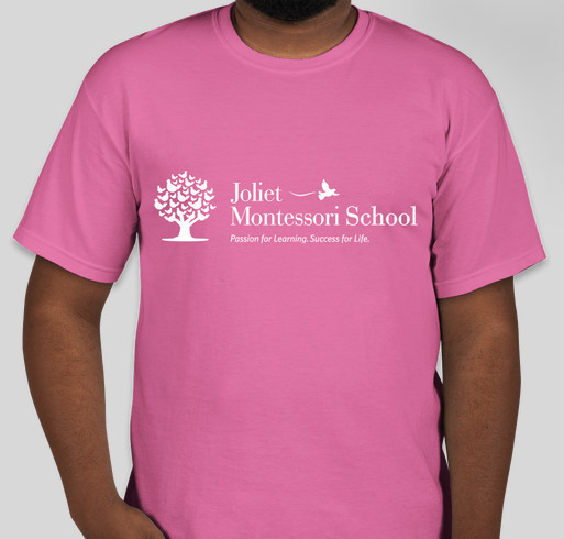 Joliet Montessori School Fundraiser - unisex shirt design - small