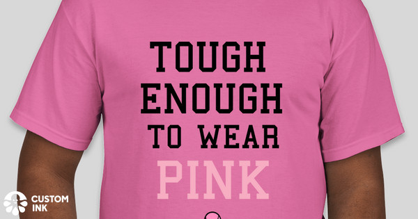 Bank of ulysses johnson state bank breast cancer t shirt for Custom t shirts under 5 dollars