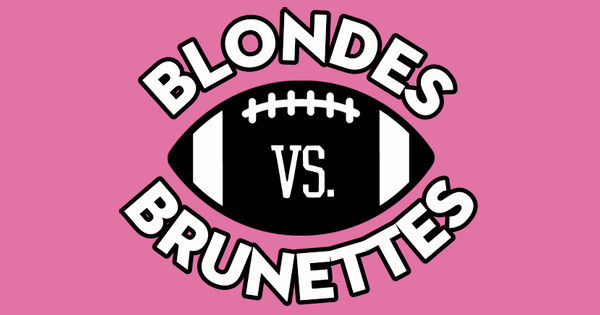 Blondes Vs. Brunettes