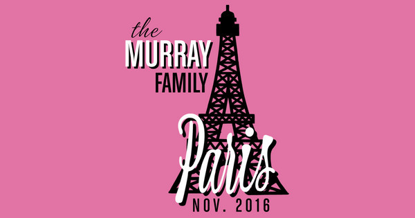 Murray Family in Paris