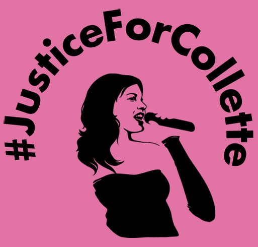 Justice For Collette shirt design - zoomed