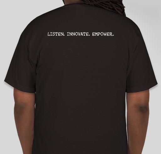 E2E Expo Fundraiser - unisex shirt design - back