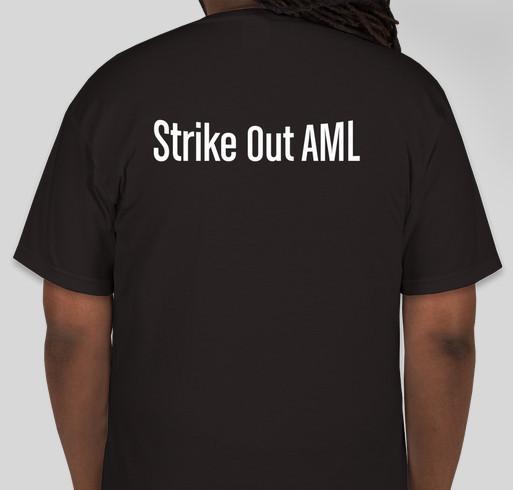 Help Strike out AML Fundraiser - unisex shirt design - back